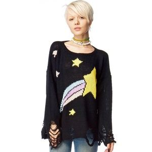Wildfox Shooting Star Lennon Sweater